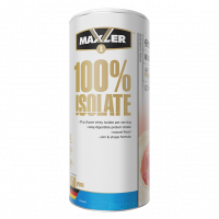 Протеин Maxler 100% Isolate, клубника, 450 г