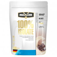 Протеин Maxler 100% Isolate, швейцарский шоколад, 900 г