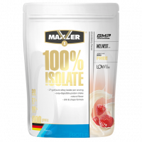 Протеин Maxler 100% Isolate, клубника, 900 г