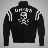 Кардиган мужской UNCS RUMBLE SWEATER Черный