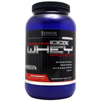 Протеин Ultimate Nutrition Prostar 100% Whey Protein, малина, 907 г