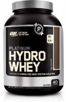 Протеин Optimum nutrition Platinum Hydro Whey, шоколад, 1590 г
