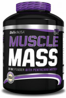 Гейнер BioTech Muscle Mass, ваниль, 2270 г