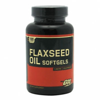 Omega Optimum Nutrition Flaxseed Oil 200 капс.